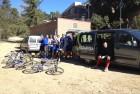 Estuvimos pedaleando con el equipo de hockey hierba del Feyenord