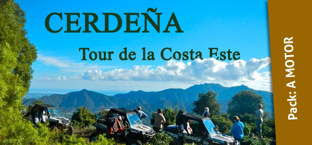 CERDEÑA, Tour de la Costa Este