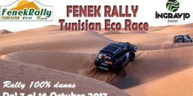 FENEK RALLY  – TUNEZ: DEL 7 AL 16 DE OCTUBRE DEL 2017