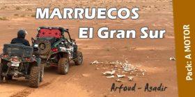 A MOTOR – RL16 MARRUECOS, El Gran Sur