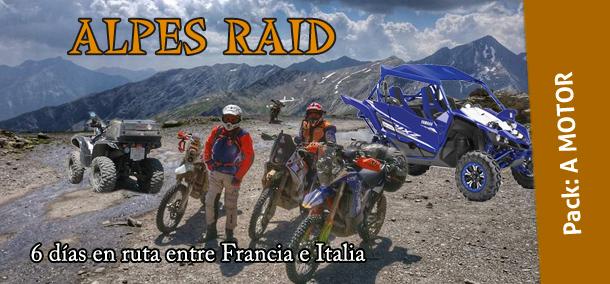 A MOTOR – RL18 Alpes raid