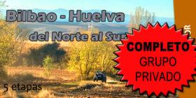 Bilbao – Huelva, del Norte al Sur, del 16 al 21 de septiembre de 2018