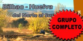 Bilbao – Huelva, del Norte al Sur, del 10 al 15 de noviembre de 2018
